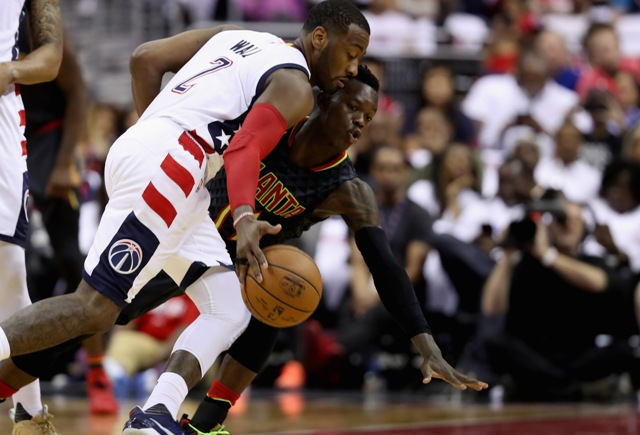 Wall impone récords en triunfo de Wizards sobre Hawks