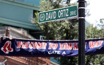 David Ortiz tendrá su propia calle en Boston