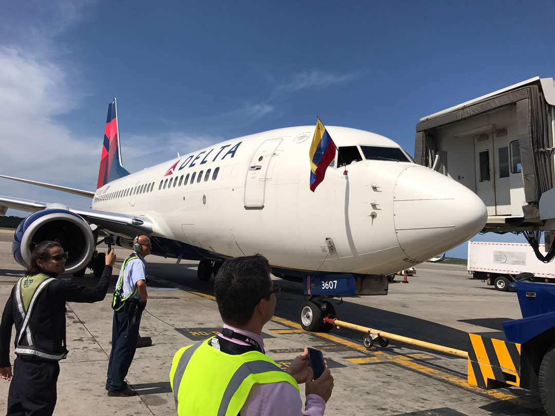 Delta Air realizó su último vuelo desde Venezuela — FOTOS+VIDEO