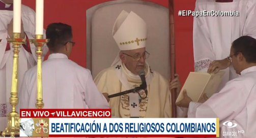 El Papa Francisco beatificará a dos mártires colombianos