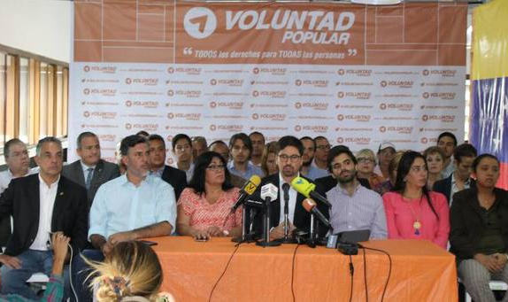 Voluntad Popular dice que no participará en municipales